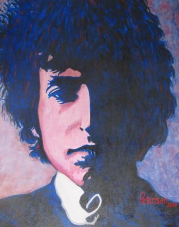 Dylan in Blue
